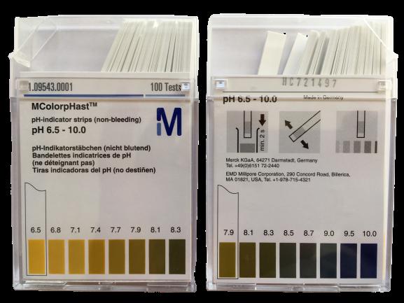 pH-Spezialindikatoren (pH 6.5-10)